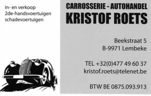 ROETS Garage advertentie