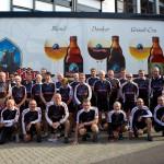 Groepsfoto genomen na de Sponsortocht op het einde van het seizoen (2014)